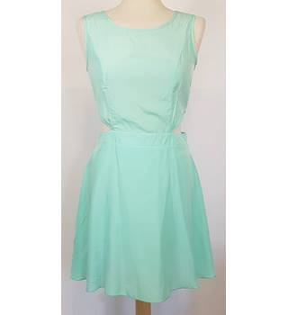 Missguided Size: 10 Turquoise Dress