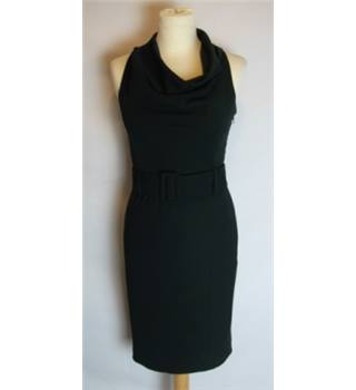 Next Size 6 Black Dress