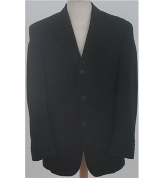 Racing Green size: 40r black single breasted suit jacket