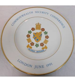 Wedgwood Commonwealth Security Conference Plate