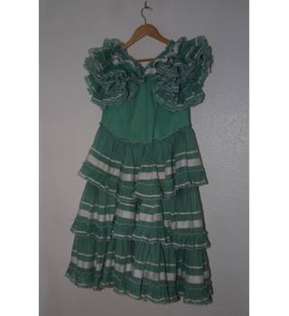 Spanish Can-Can Dress Size 10
