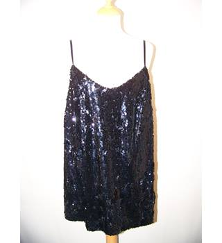 George - Size: 16 - Black - Sleeveless top