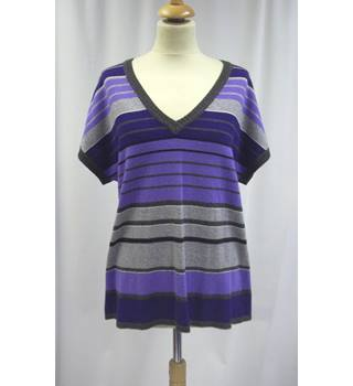 Gerry Weber - Size: L - Purple and Grey - Sleeveless top