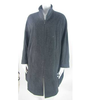 Windsmoor - Size: M - Charcoal Grey - Wool & Cashmere Mix Cape Style Coat