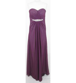 Friends Dress Agency - Size: 10/12 - Purple prom dress