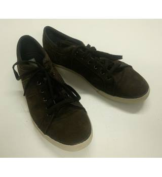 FATFACE MEN'S BROWN SUEDE TRAINERS SIZE 9 UK FATFACE - Size: 9 - Brown - Trainers