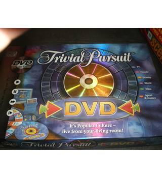 TRIVIAL PURSUIT DVD EDITION BOARD GAME