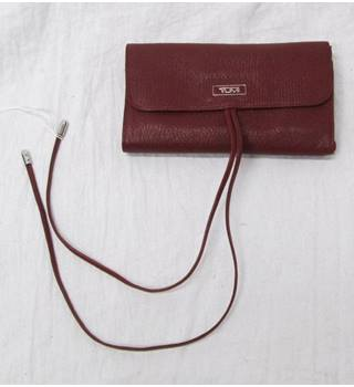 Red Leather Jewelry Roll from TUMI TUMI - Size: Not specified - Red