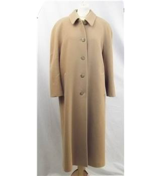 M&S St Michael - Size: 14 - Camel Beige - Smart Coat