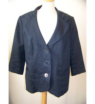 Per Una - Size: 18 - Blue - Smart jacket / coat