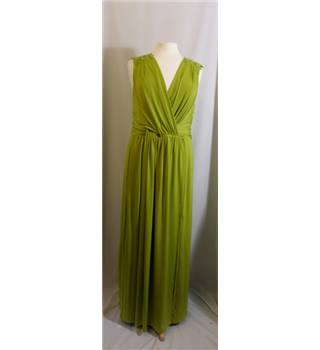 BNWT Alexon size 18 chartreuse green evening dress