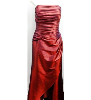 D'Zage - Size: 14 - Reflective Red Dress