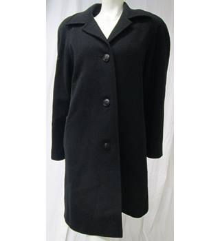 Wool Coat with Viscose Lining From Daks Size 12 Daks - Size: 12 - Black