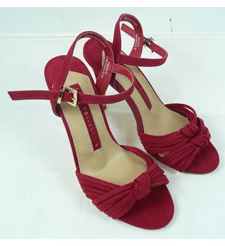 Marks & Spencer - Size: 3 - Red - Heeled shoes