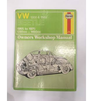 Volkswagen 1300 and 1500 Beetle Owner's Workshop Manual