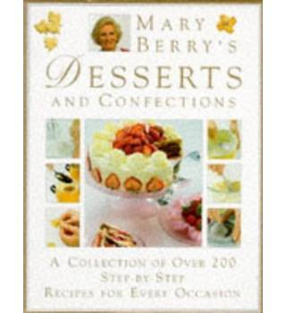 Mary Berry's desserts and confections