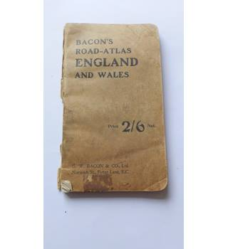 Bacon's Road Atlas England and Wales