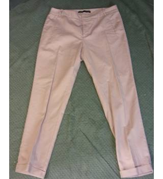 "Ladies Dusty Pink Zara Trousers, 32"" Waist"