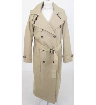 M&S - Size: 16 - Beige Mac Trench Coat