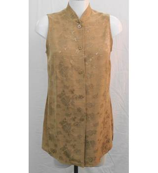 Dorothy Perkins gold tunic Size 12