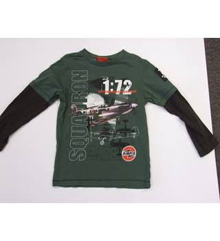 Boys AirFix graphic t-shirt - Size: 7 - 8 Years - Green