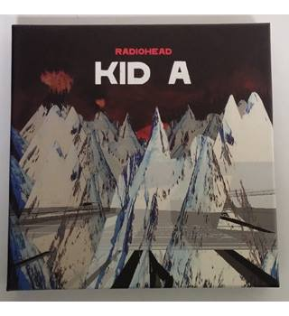 Radiohead Kid A 3-disc CD