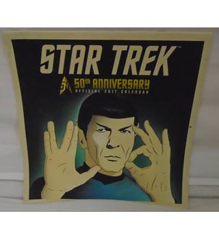 Star Trek - The 50th Anniversary Official 2017 Calendar
