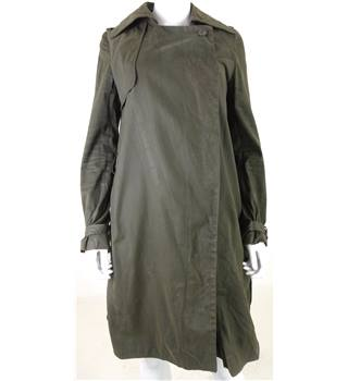 All Saints Size: 8 Khaki Green Trench Coat