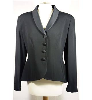 Paul Costelloe Collection, size 14 black jacket