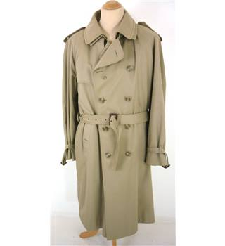 M&S - Size 12 - Beige double breasted trenchcoat