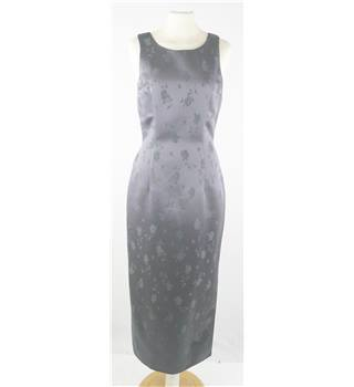 Stirling Cooper - Size 10/1 - Grey with floral pattern sleeveless dress