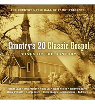 Country's 20 Classic Gospel various