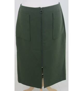 NWOT M&S, size 16, khaki green skirt