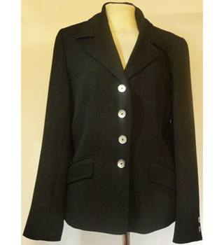 Kaliko - Size: 10 - Black - Ladies' Smart Jacket
