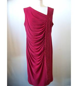 r & m richards - Size: 16 - Red - Dress