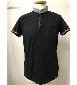 Industrialize - Size: M - Black - Short sleeved polo shirt