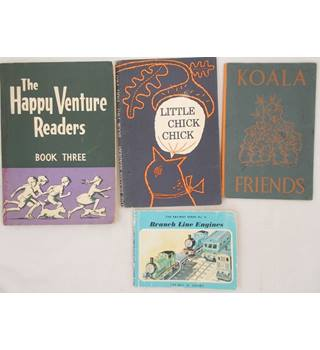 Children's Books (4) - Branch Line Engines; Koala Friends; Little Chick Chick; The Happy Venture Readers Book Three