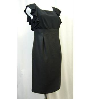 Per Una - Size: 16 - Black - Calf length dress