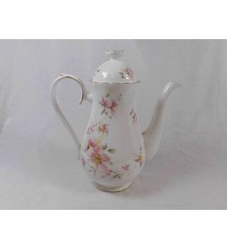 "Royal Albert ""For all Seasons-Breath of Spring"" Coffee Pot."