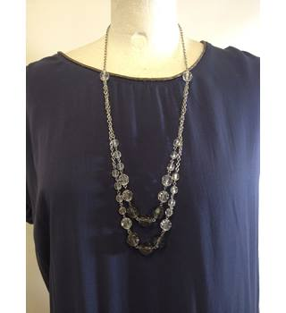 Fun 1920's Style Long Necklace Unbranded