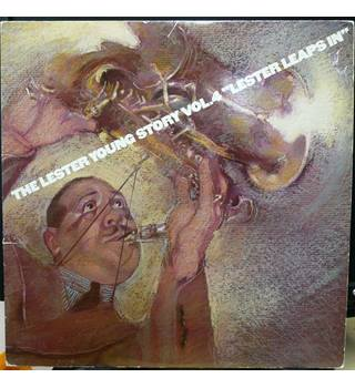 "The Lester Young Story Vol.4 ""Lester Leaps In""- Lester Young - 88479"