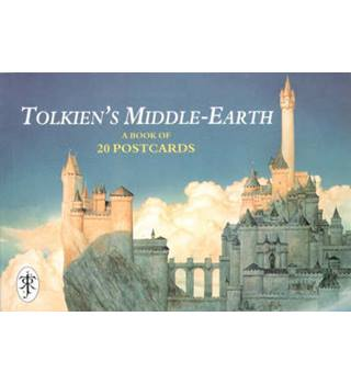 Tolkien's Middle Earth Postcard Book