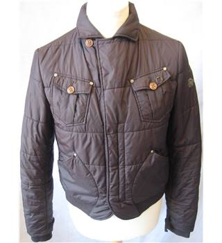 Diesel - Size: L - chocolate brown - Padded jacket