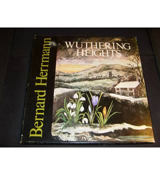Wuthering Heights opera by Bernard Herrmann Pro Arte Orchestra 4 LP Stereo boxset Unicorn UNB 400-404 rare and collectable
