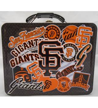 Baseball - MLB - San Francisco Giants - Tin Lunch Box