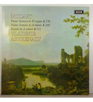 Mozart - Piano Sonata In D Major K.576 / Piano Sonata In A Minor K.310 / Rondo In A Minor K.511 - Vladimir Ashkenazy - SXL 6439