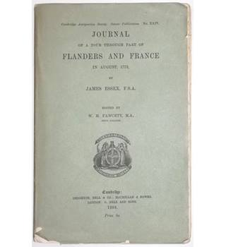 Journal of a Tour Through Part of Flanders and France in August, 1773 [1888]