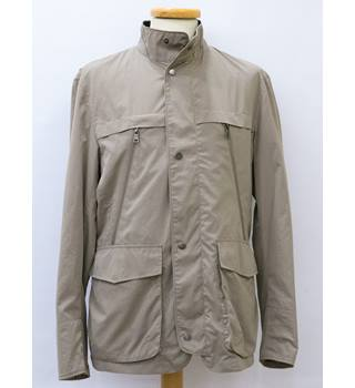 Men's M&S collection Stormwear Beige Jacket M&S Marks & Spencer - Size: Small - Beige - Jacket
