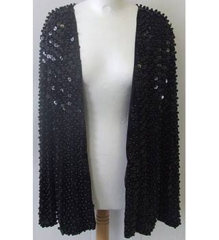 Medici - Size 16 - Black with sequins and studs jacket