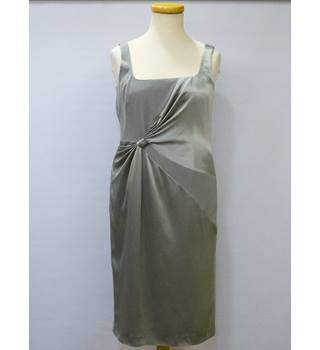 Women's Ispirato Silver Dress with Bolero Ispirato - Size: 16 - Silver - Evening